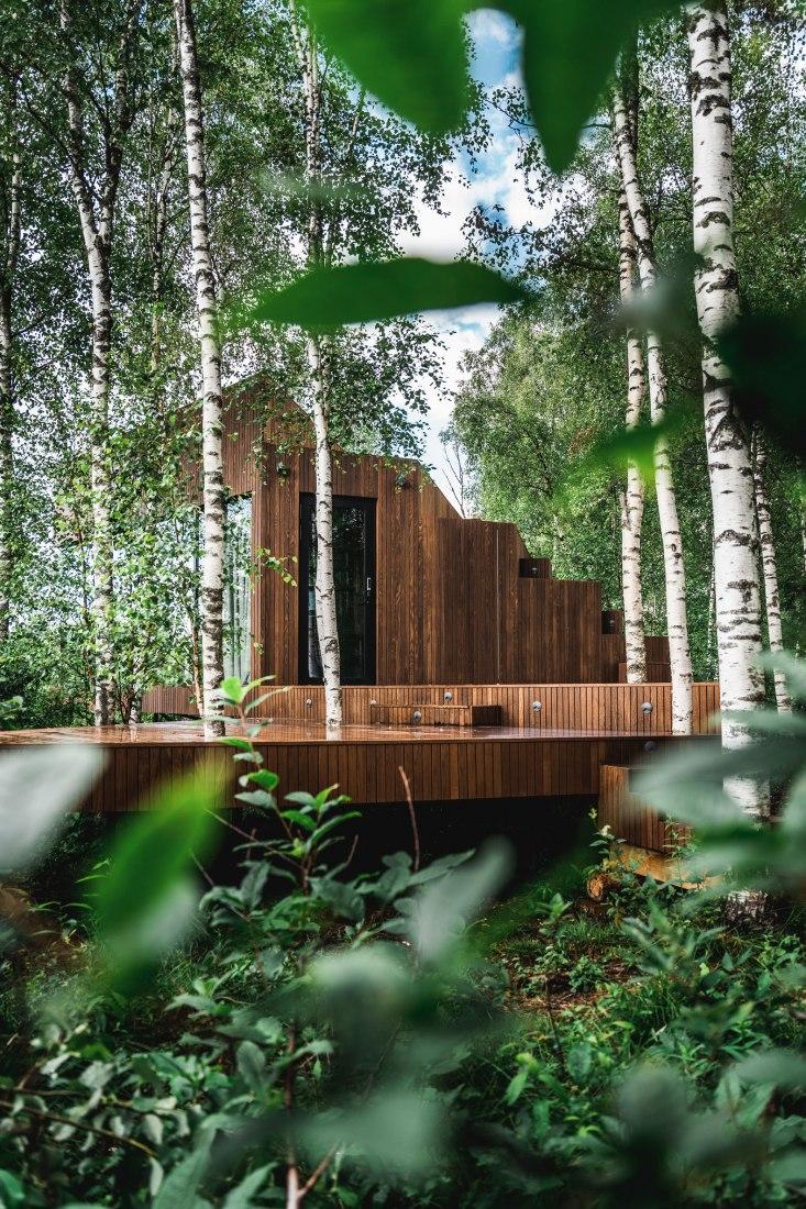 Maidla Nature Resort by b210 architects. Photograph by Priidu Saart