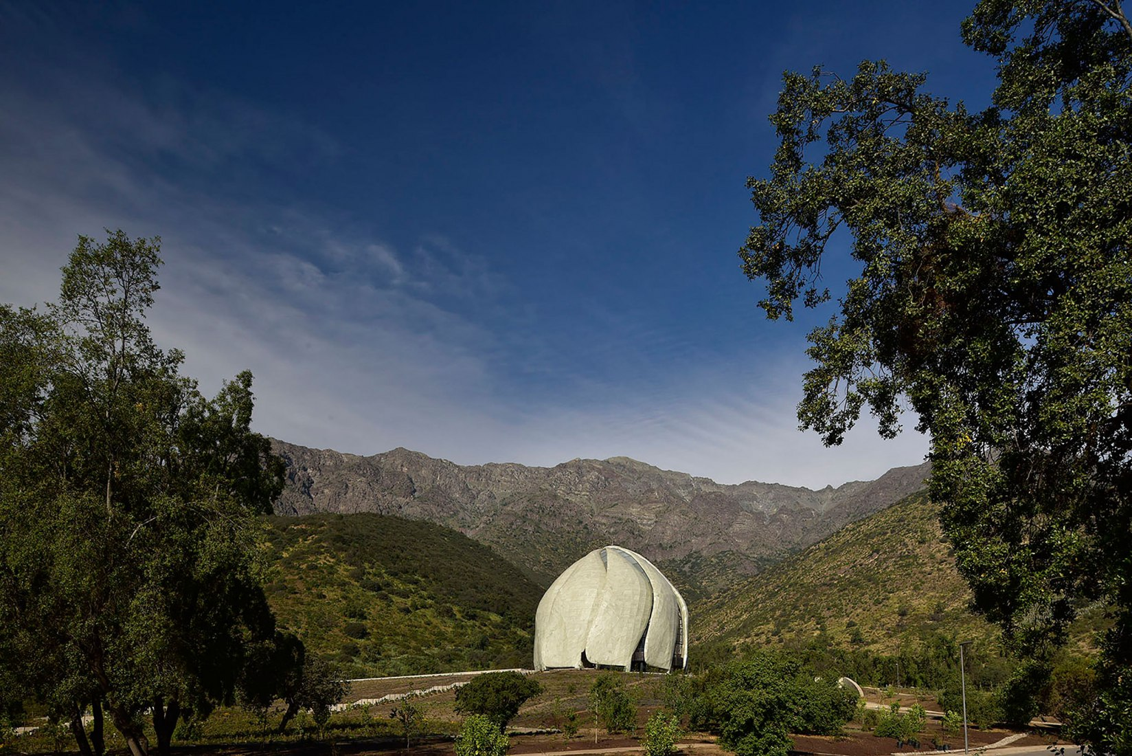 Exterior. Bahá'í Temple of South America by Hariri Pontarini Architects. Photograph © Guy Wenborne