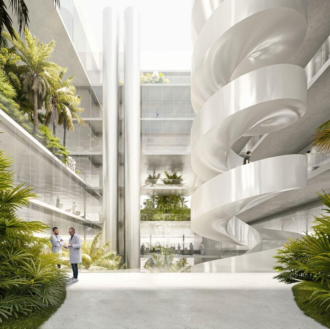 Nuevo edificio del Instituto de Ciencia y Tecnología de Barcelona por Barozzi Veiga. Imagen cortesía de Barozzi Veiga.