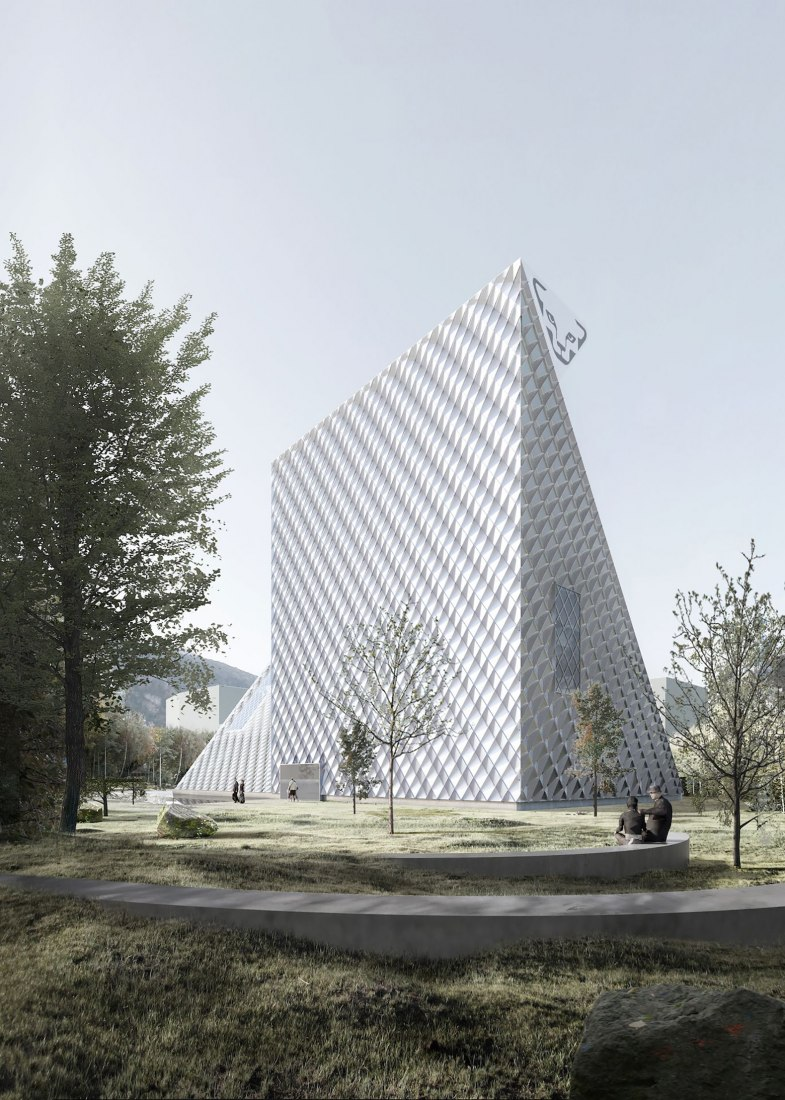 Rendering. Dynafit Headquarter by Barozzi Veiga