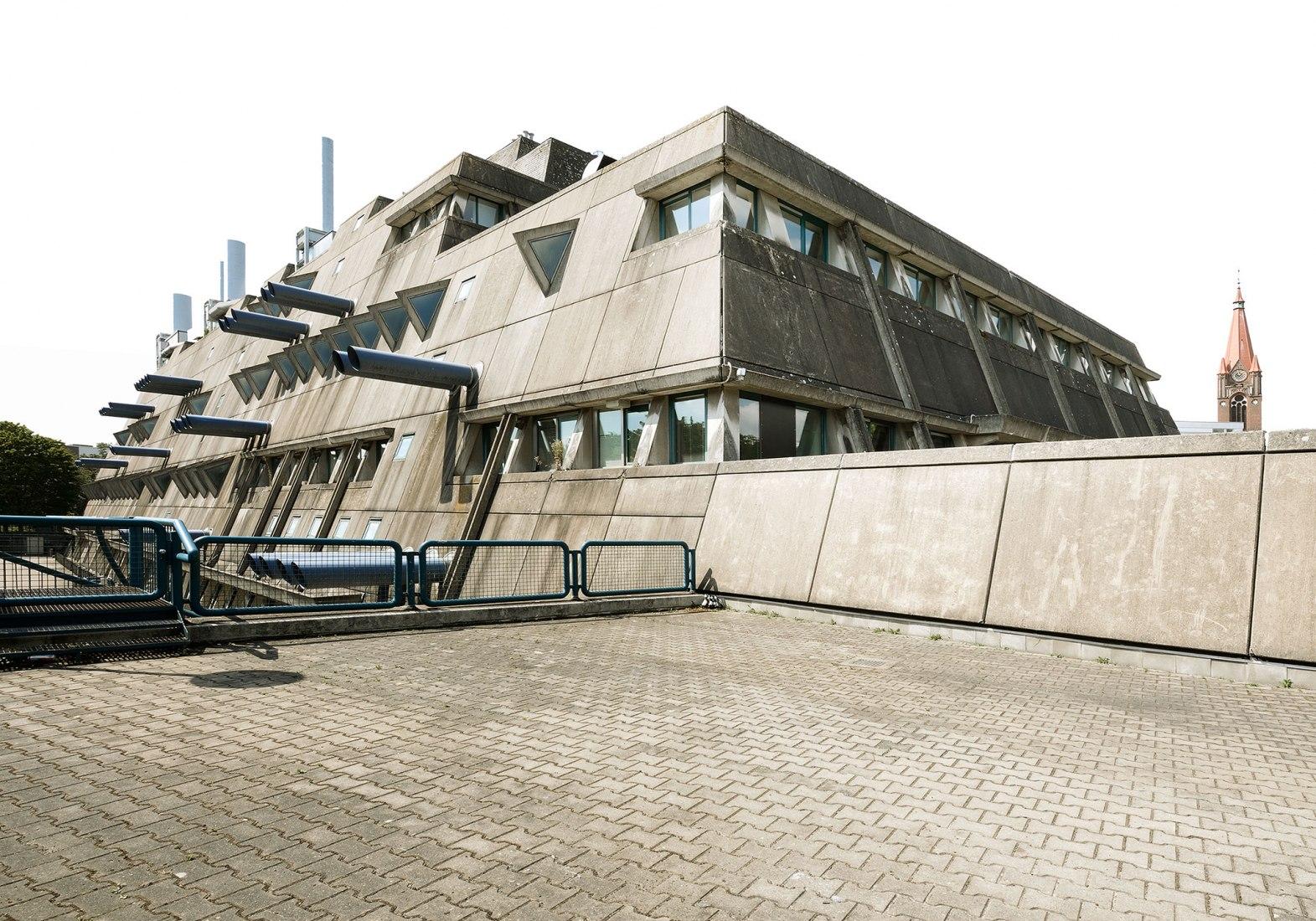 Experimental Setup BERLIN. Mäusebunker, 2020. Fotografía por Kay Fingerle.