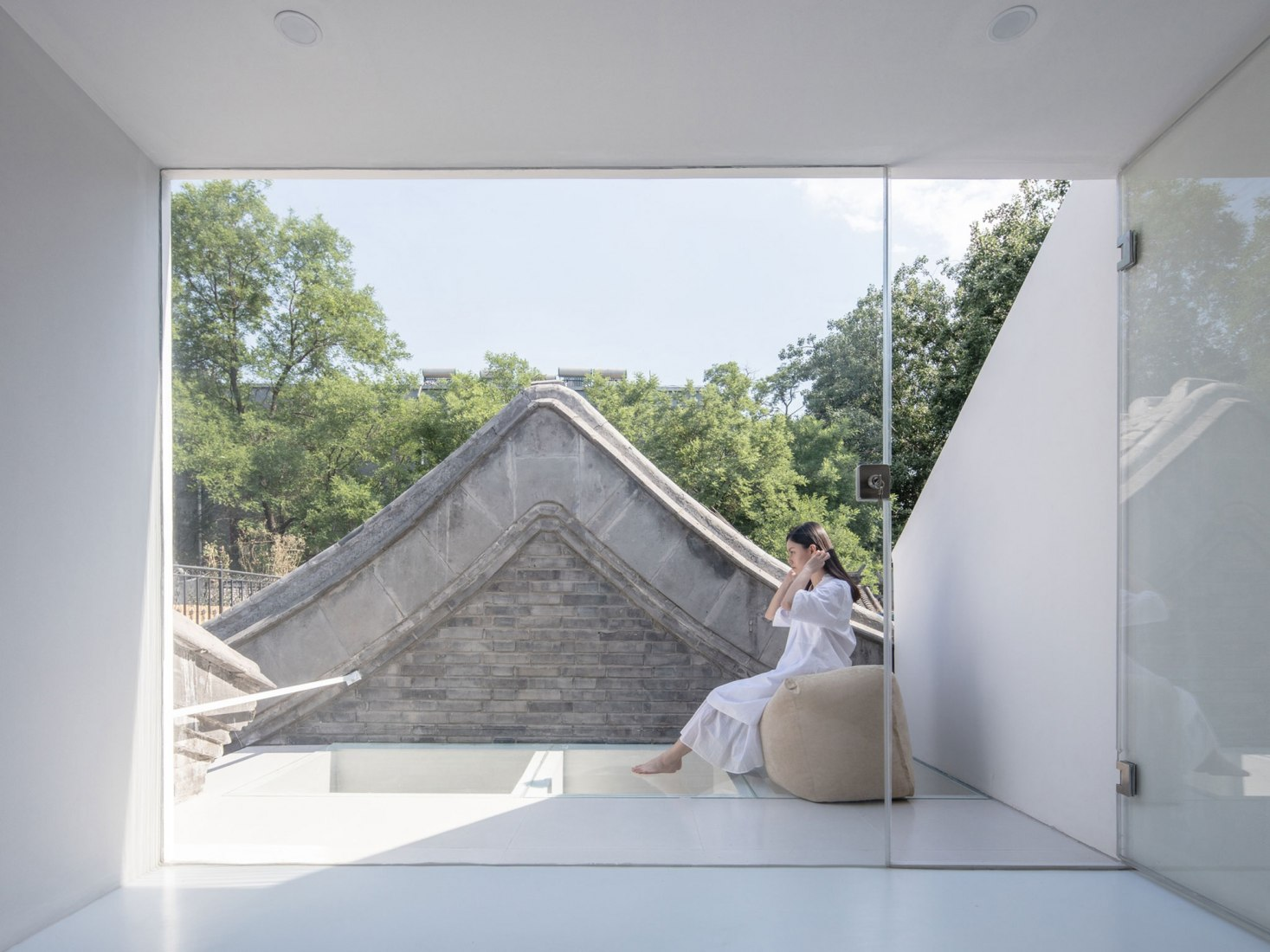 'Tsuo' dwelling by Wonder Architects. Photograph © Haiting Sun