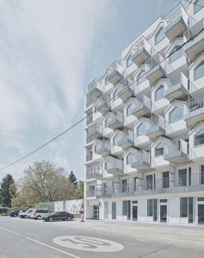 Gudrunstraße Apartments por BFA x KLK. Fotografía por David Schreyer