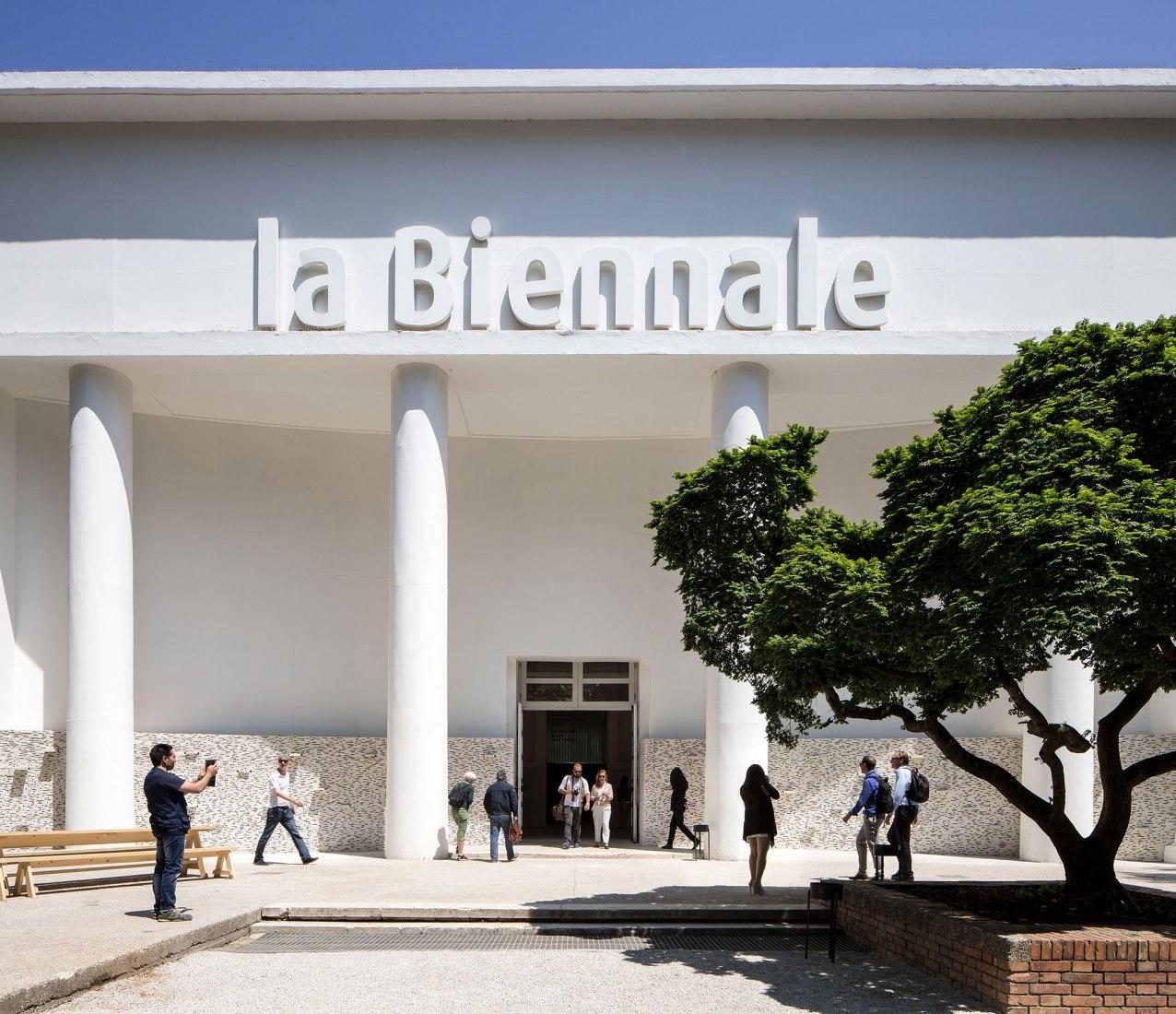 Giardini. Sede de la Bienal de Venecia. Cortesía de la Bienal de Venecia