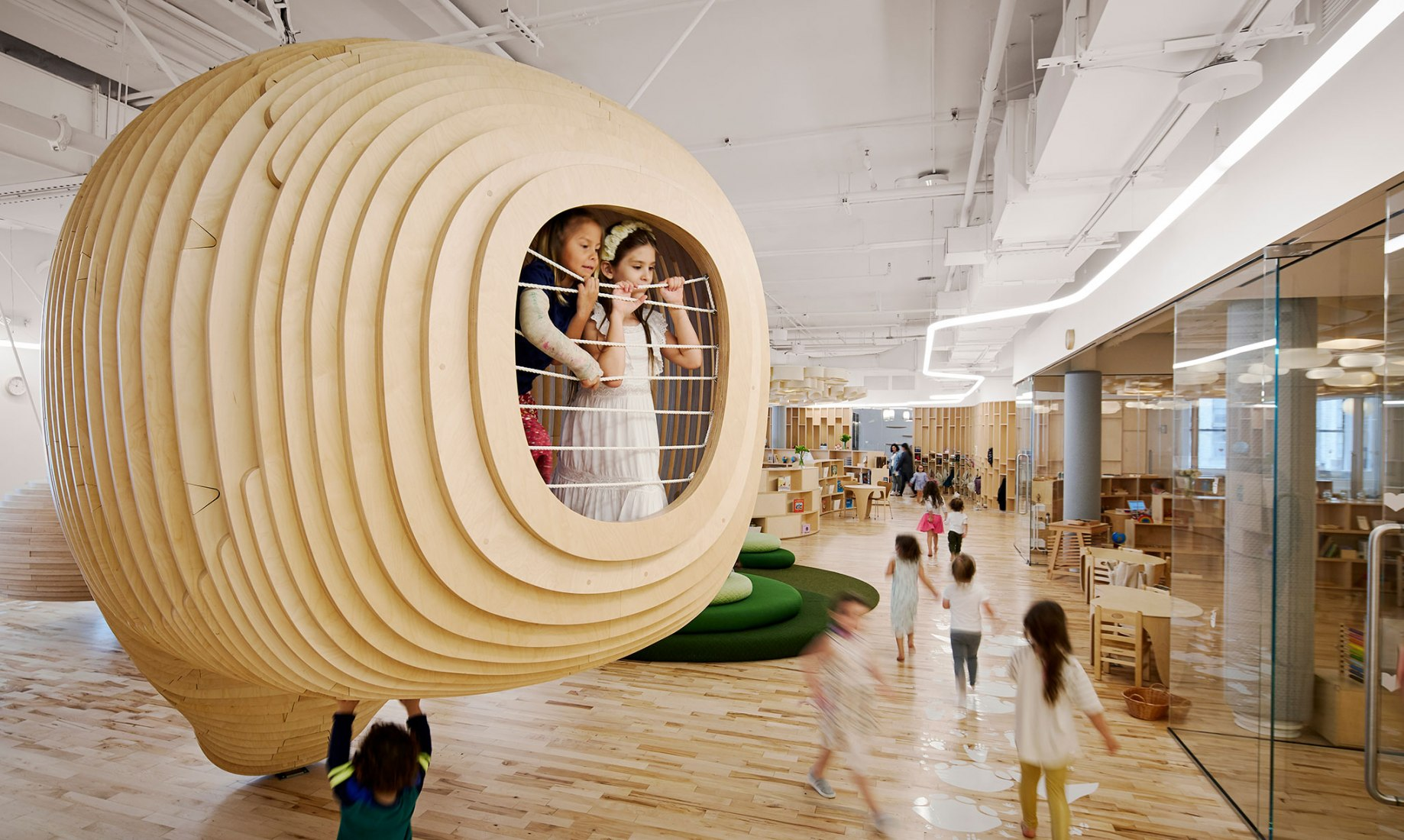 BIG reimagines education with new School designed for Wegrow. Photograph by Dave Burk