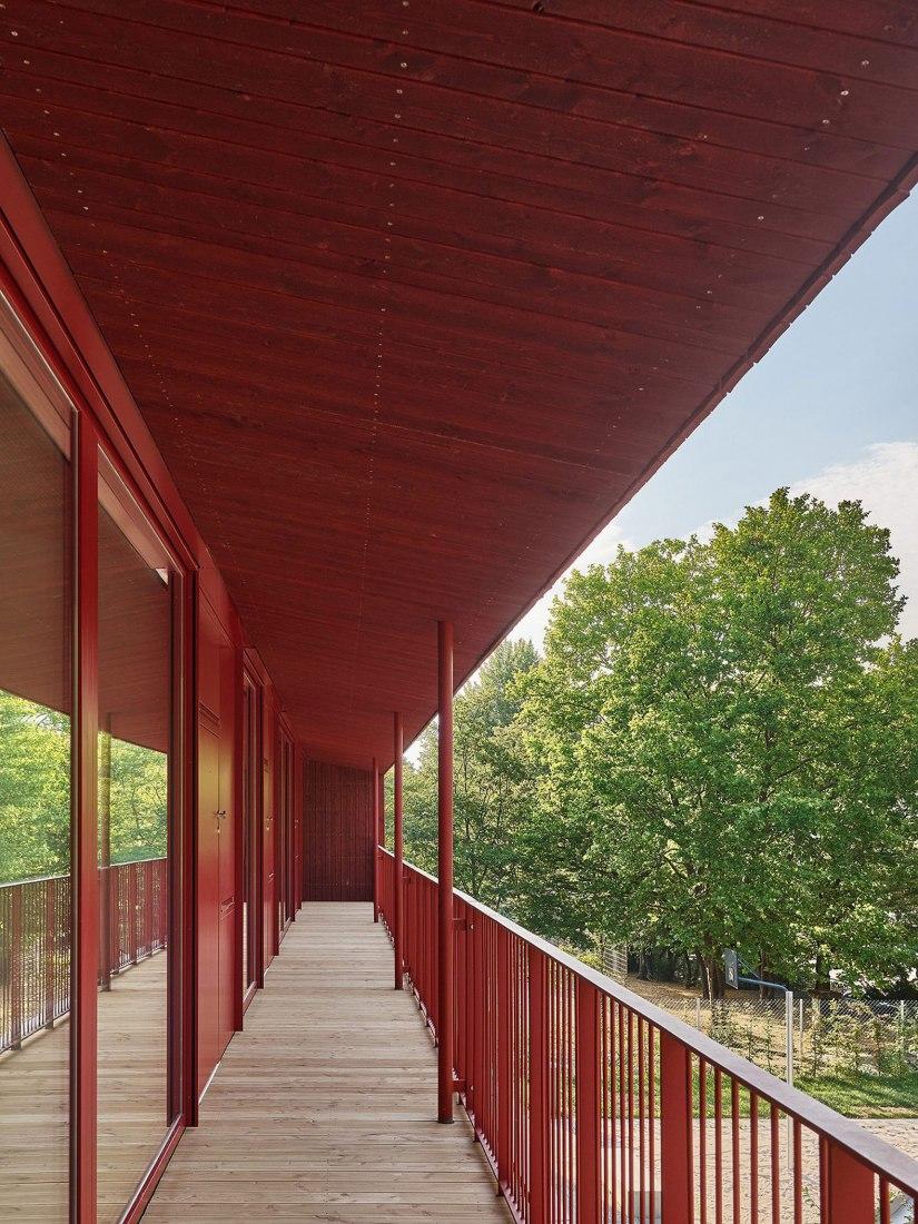 Kita im Park by Birk Heilmeyer und Frenzel Architekten. Photograph by Zooey Braun.