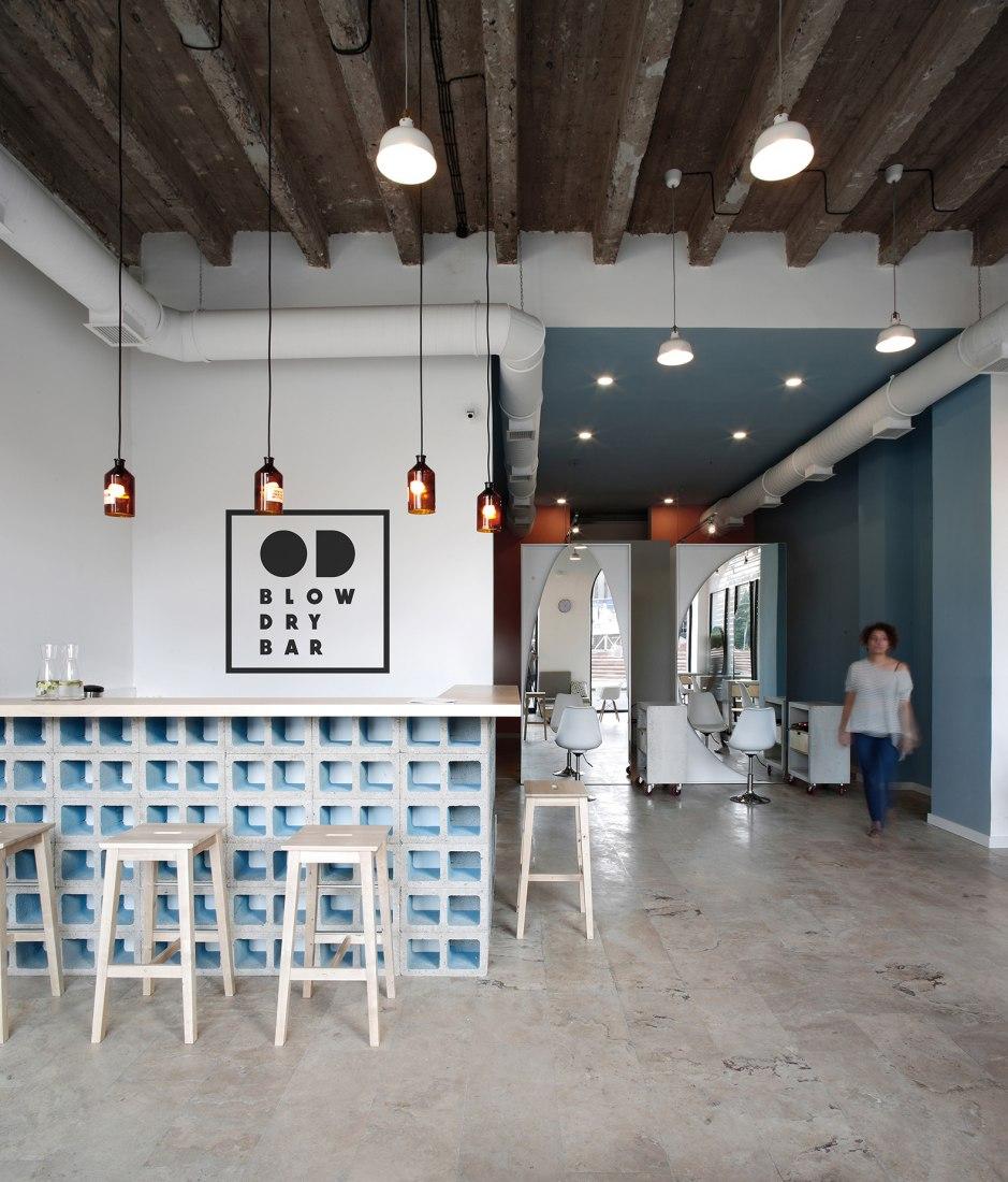 OD Blow Dry Bar por SNKH Architectural Studio © Sona Manukyan & Ani Avagyan