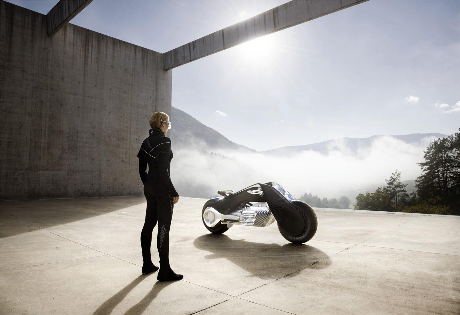 BMW Motorrad VISION NEXT 100. Fotografía © The BMW Group.