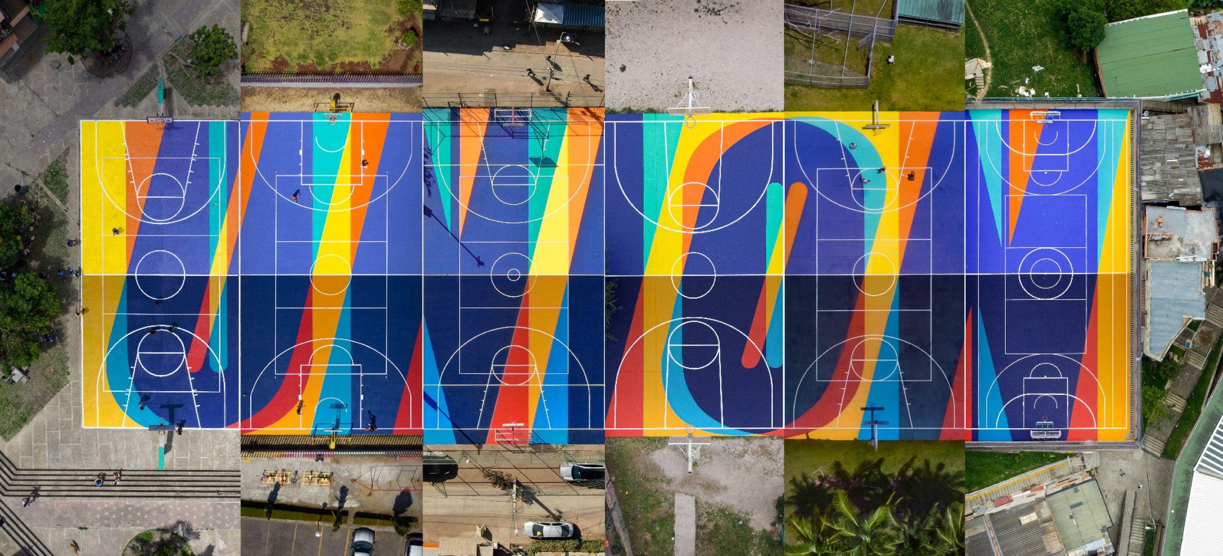 Collage. UNIÓN by Boa Mistura, Myke Towers.