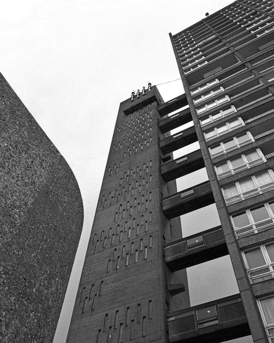 Balfron, examples of Brutalist London Map by Blue Crow Media. Photography © Simon Phipps.