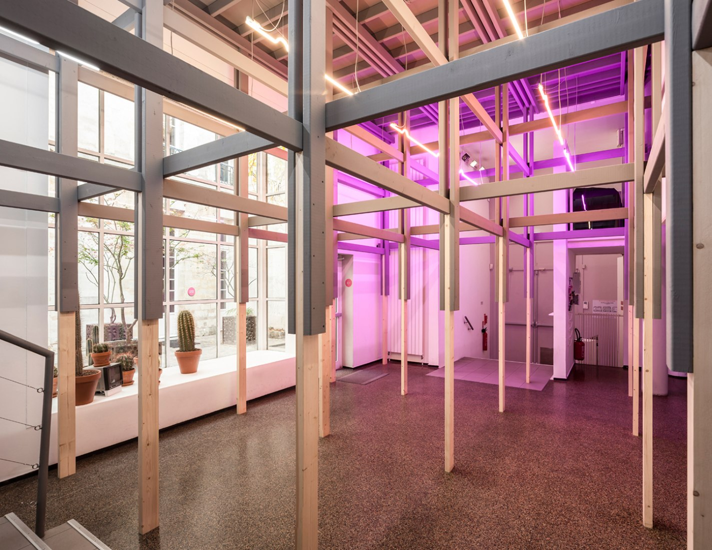 Centre Culturel Suisse in Paris después de la intervención por BUREAU A. Fotografía © Dylan Perrenoud.