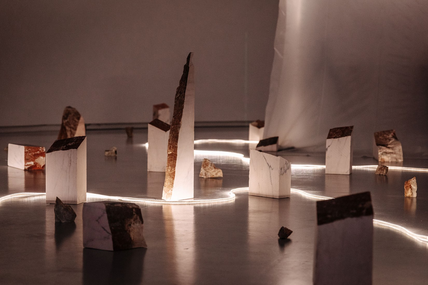 Mush Rooms by BUREAU - Daniel Zamarbide. Photograph by Francisco Craveiro