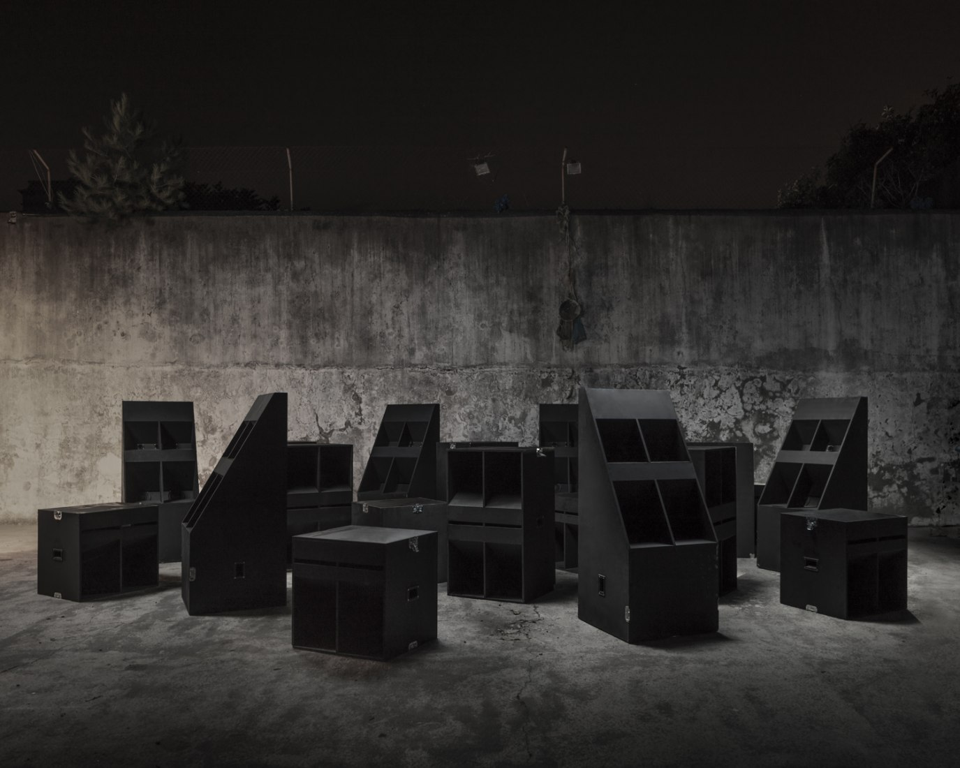 THE CLUB installation by BUREAU A. Photograph © Dylan Perrenoud.