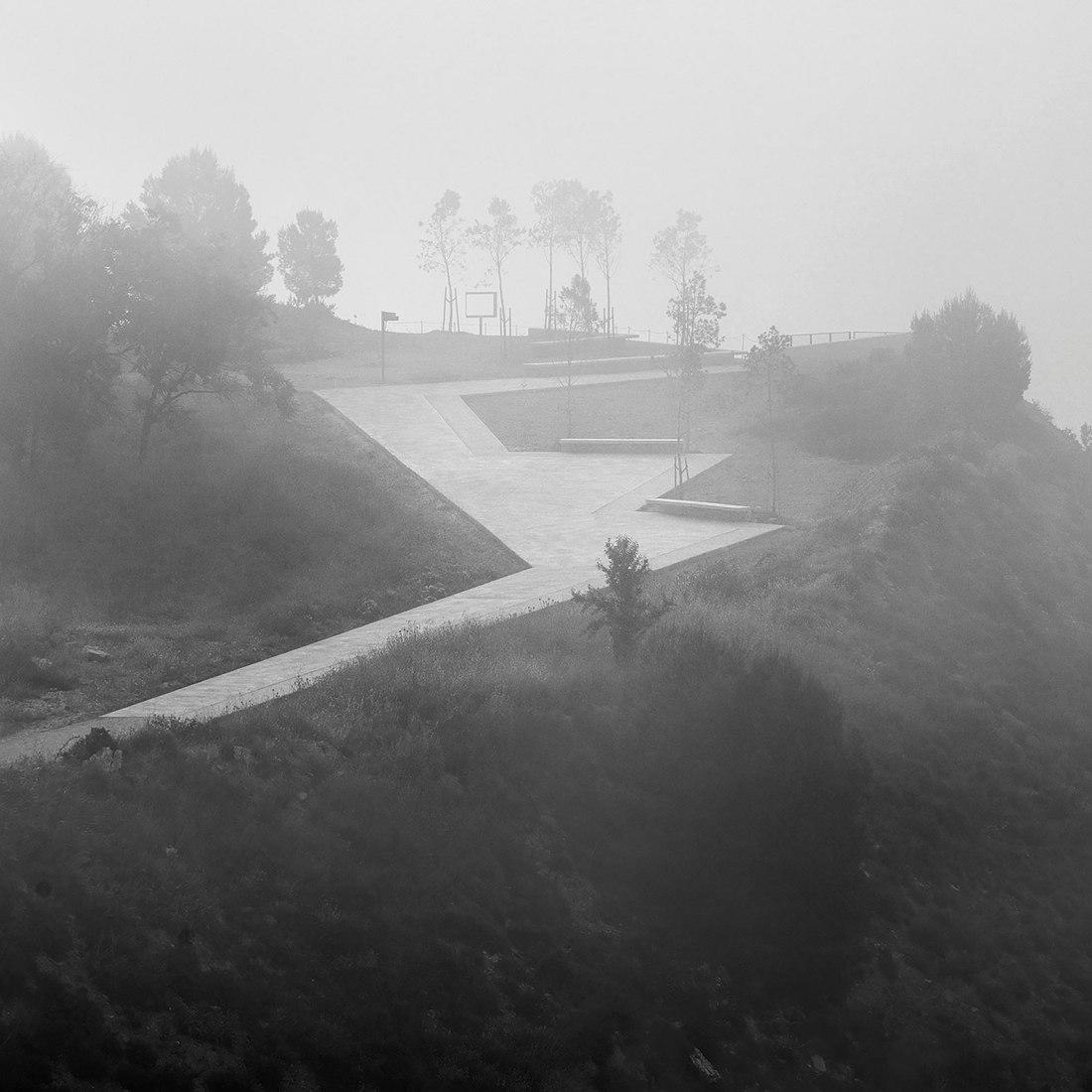 Recuperación de las antiguas minas de tiza de Igualada por Batlle i Roig Arquitectes. Fotografía de Jordi Surroca