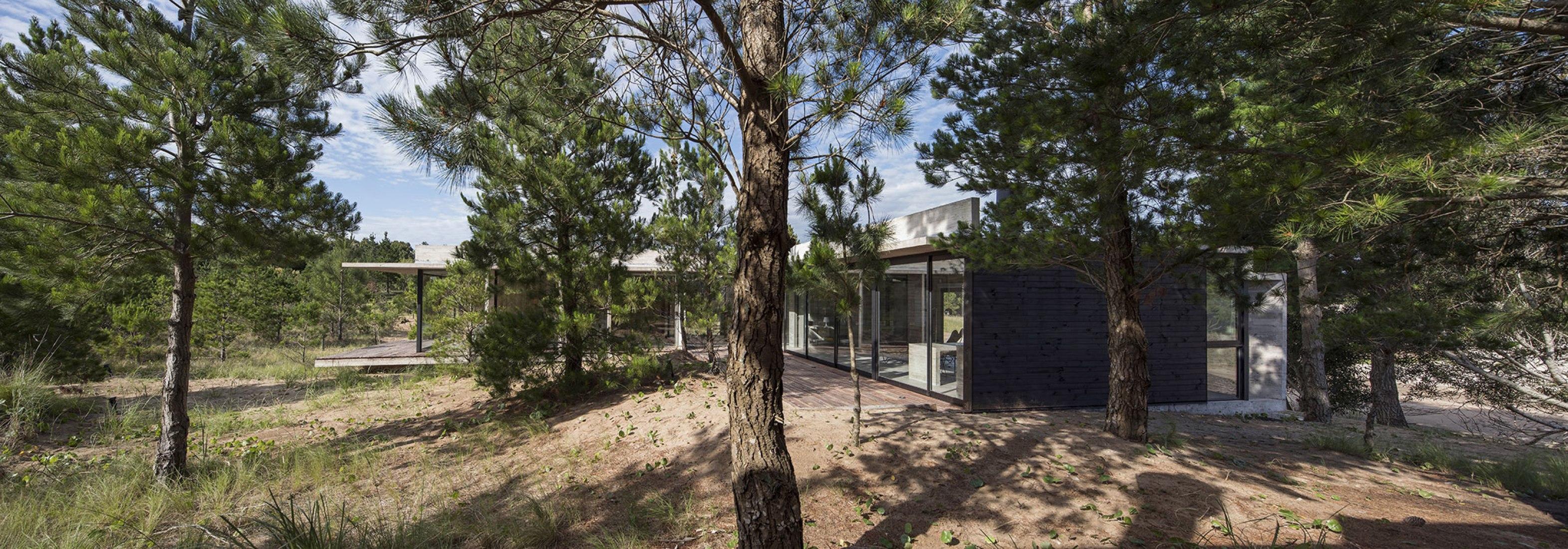 Vista panorámica. Casa Ecuestre por Luciano Kruk arquitectos. Cortesía de Luciano Kruk arquitectos