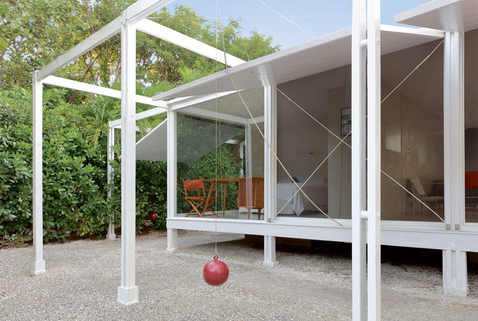 La casa de invitados Walker proyectada por Paul Rudolph. Fotografía por Sotheby's