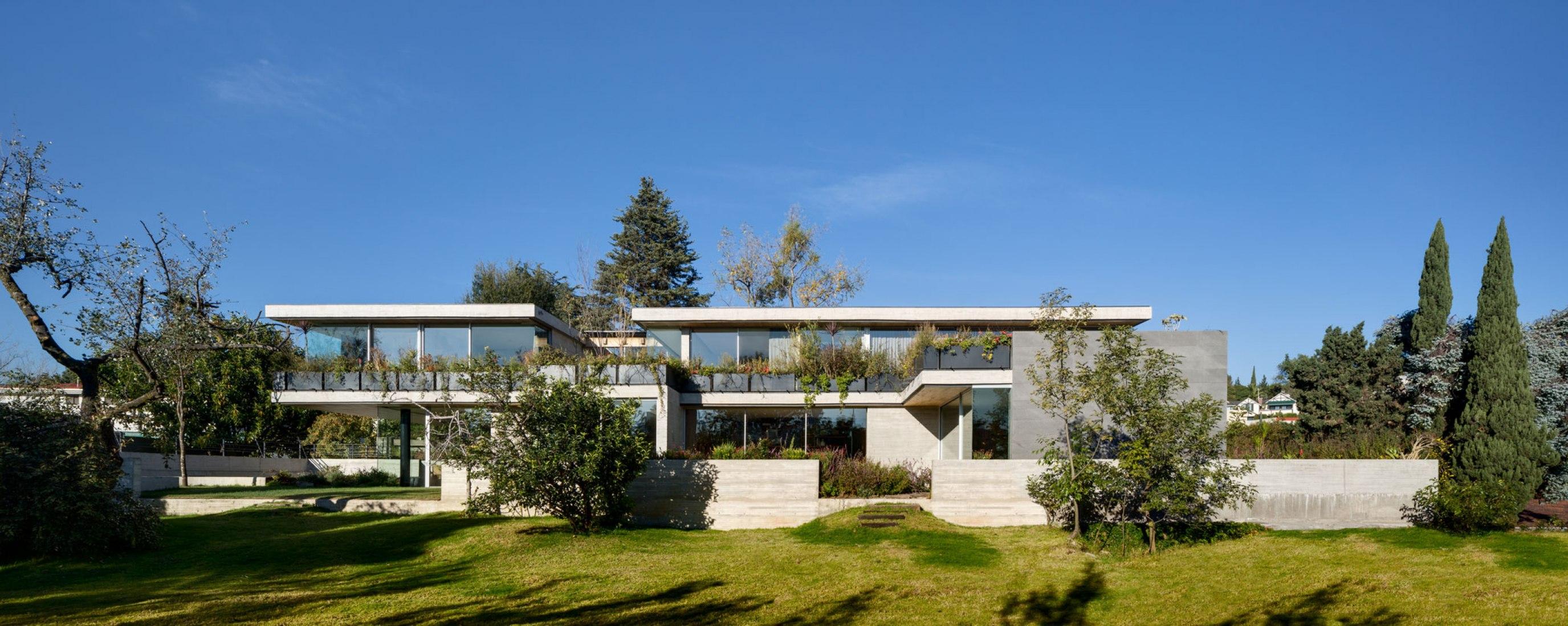 Vista exterior. Casa P29 por vgz arquitectura y diseño. Fotografía por Rafael Gamo