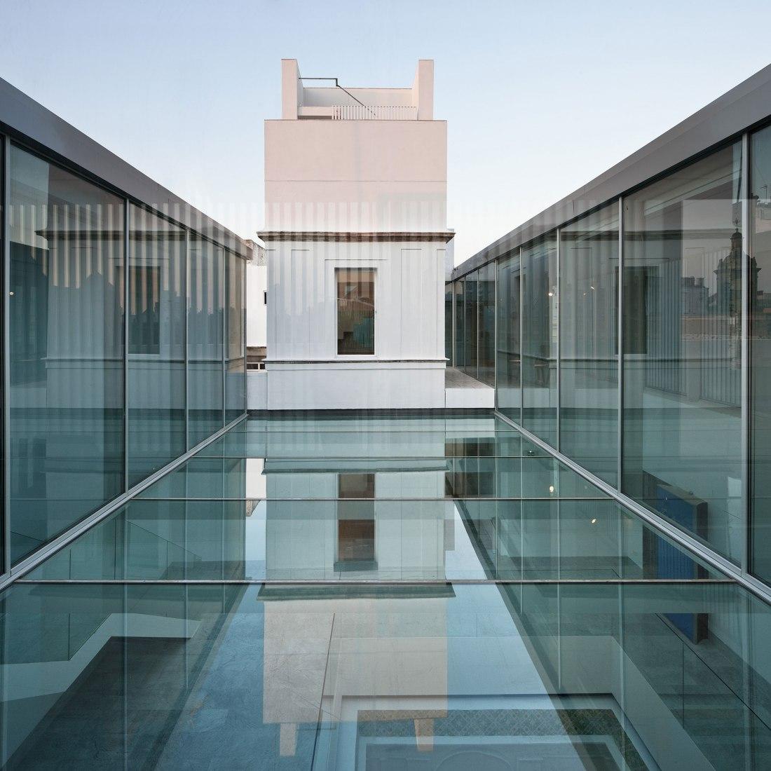 Casa Pinillos, Cadiz museum expansion by Reina & Asociados. Photograph © Fernando Alda