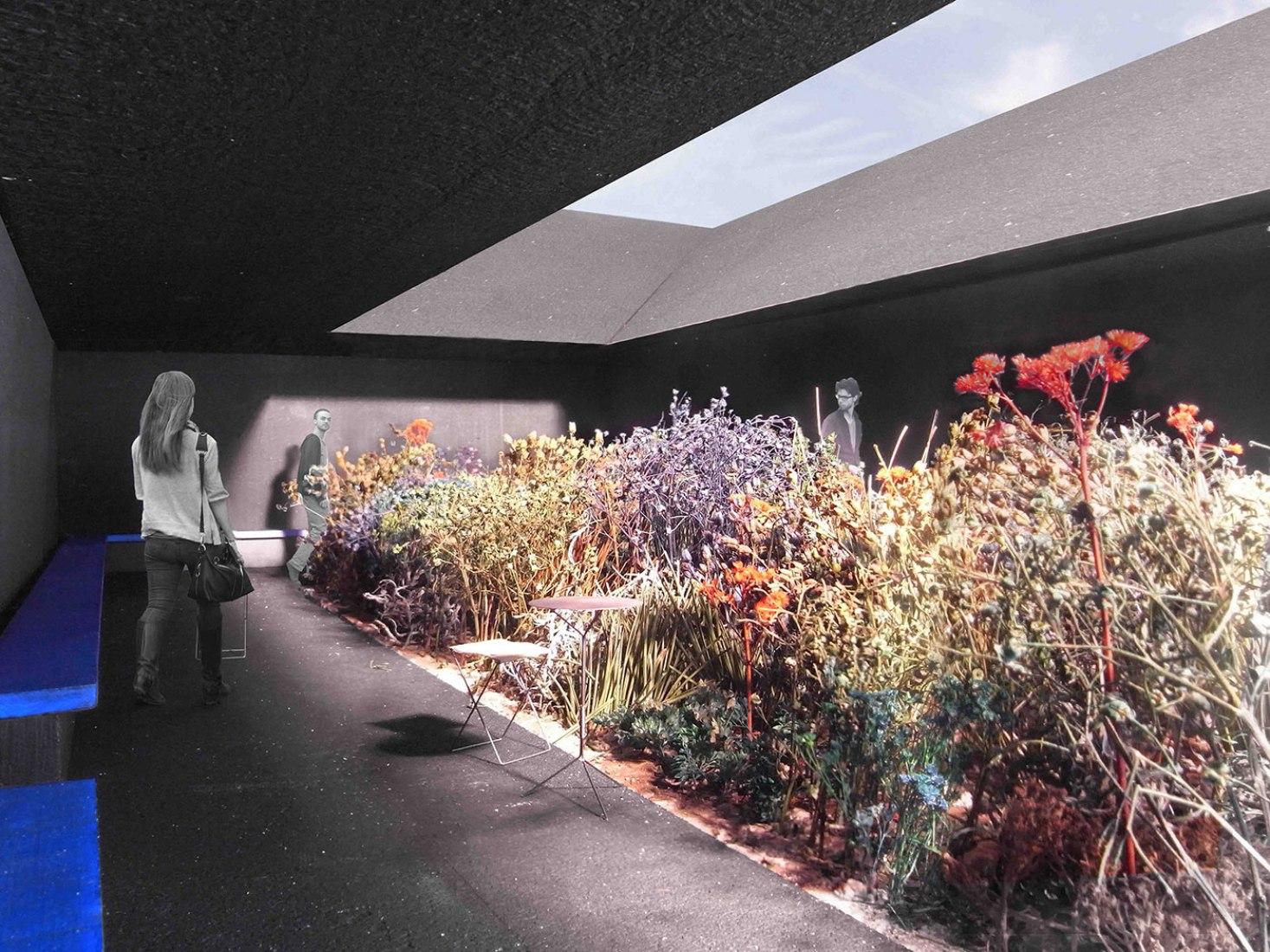 Visualización. El Pabellón de la Serpentine Gallery 2011, por Peter Zumthor