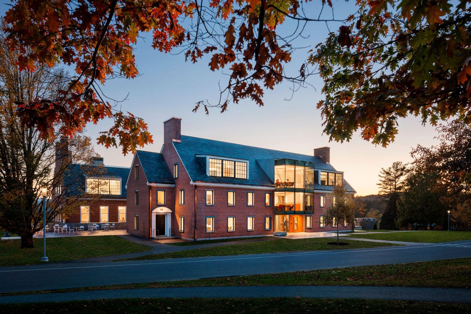 Rehabilitación y Transformación del edificio Commons de Bennington College por Christoff: Finio. Fotografía por Scott Frances/Courtesy C:FA