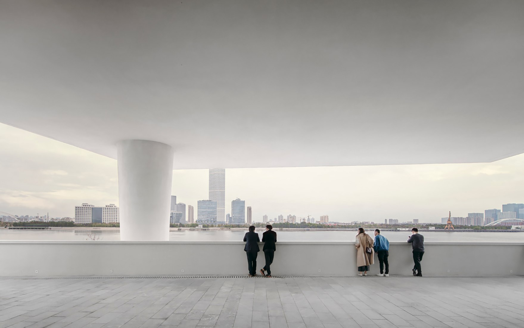 West Bund Museum by David Chipperfield Architects. Photograph by Simon Menges