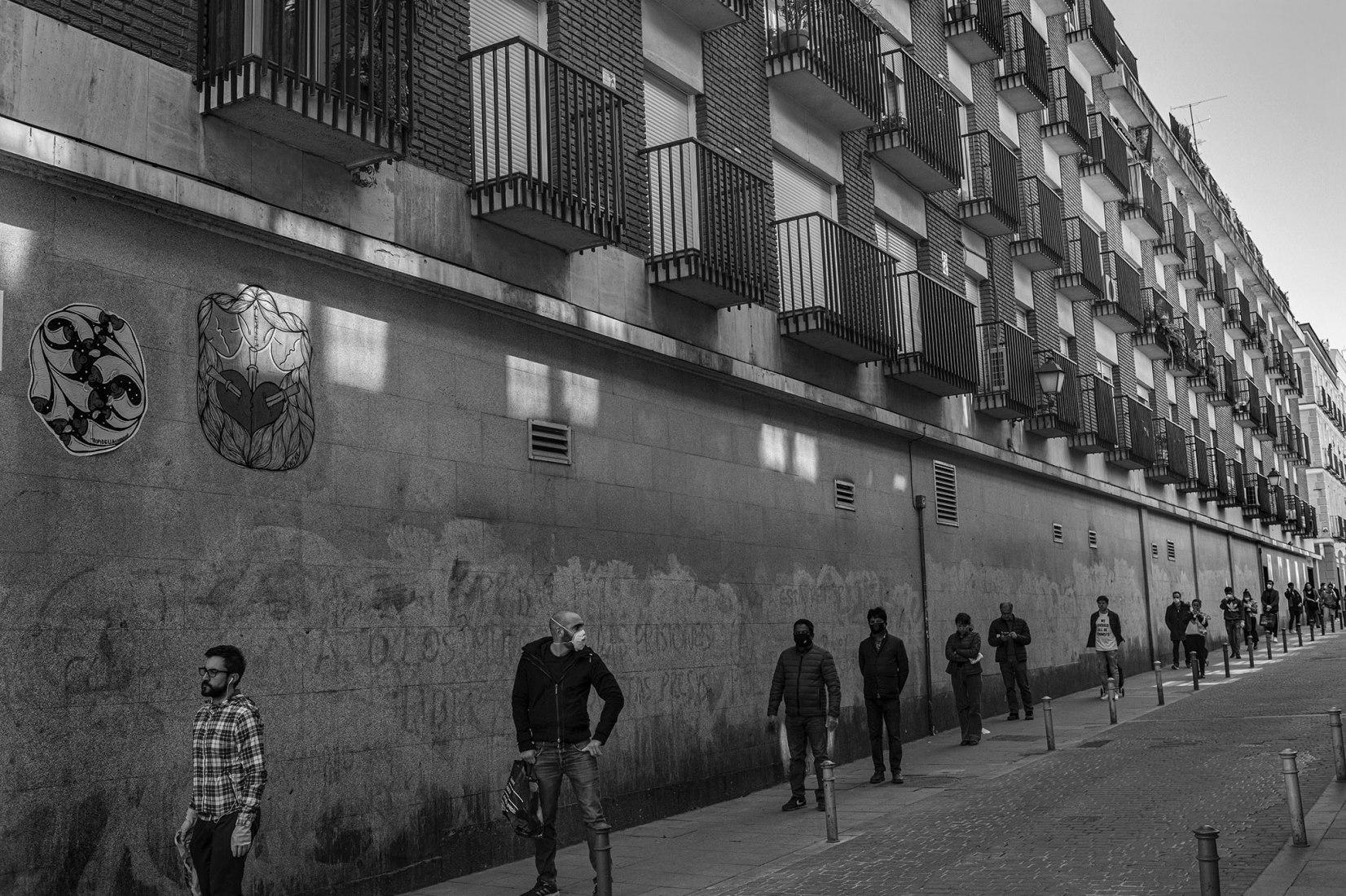Clemente Bernad. Serie Ante el umbral, Madrid, 2020. Cortesía del Reina Sofía