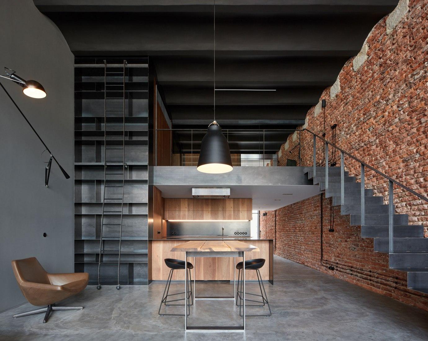 Loft with Love. Loft renovation, by CMC architects. Photograph by BoysPlayNice
