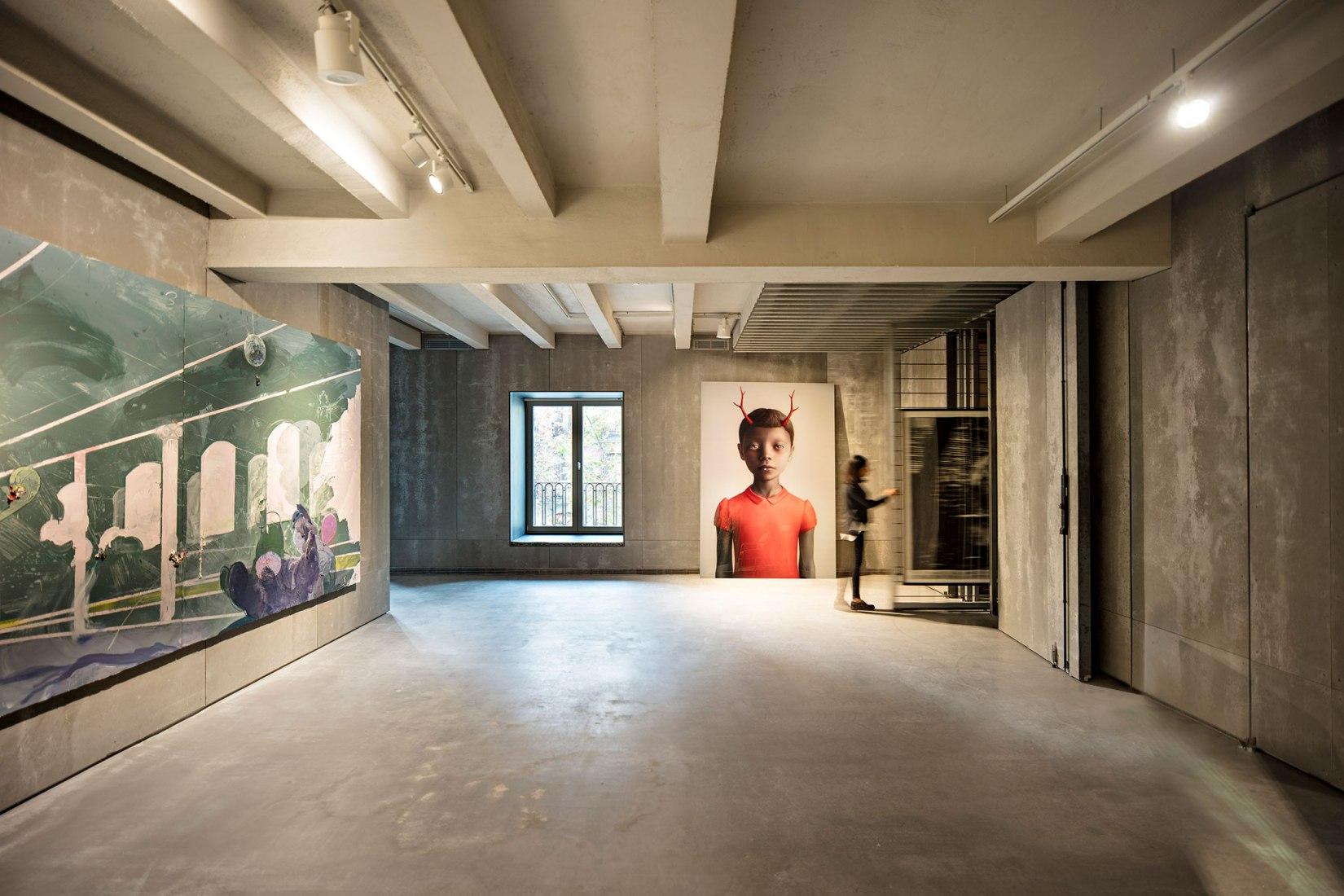 Indoors view. SOLO Space by estudio Herreros. Photograph © Javier Callejas