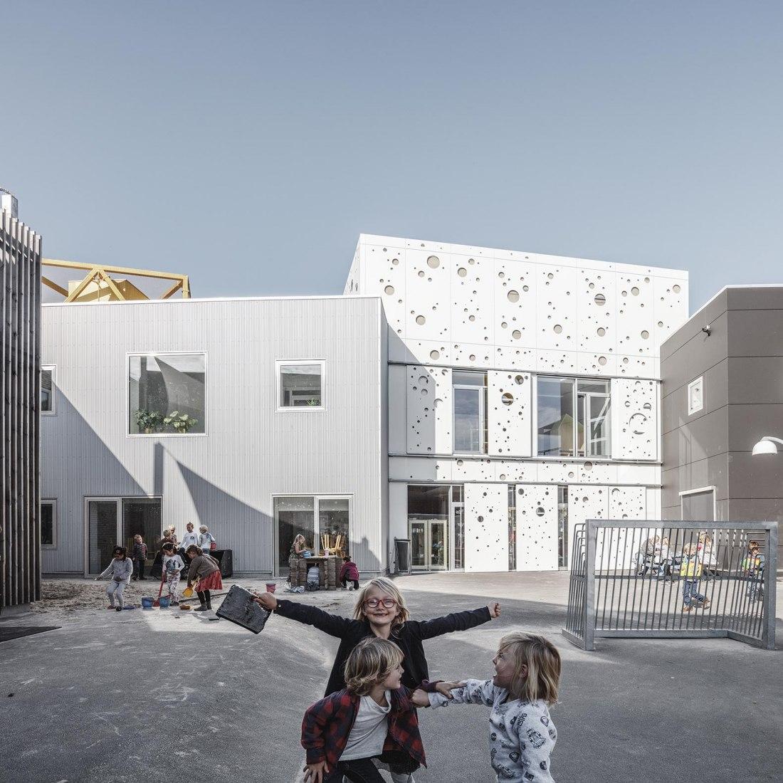 Kids' City Christianshavn by COBE and NORD Architects Copenhagen. Photograph by Rasmus Hjortshøj - COAST