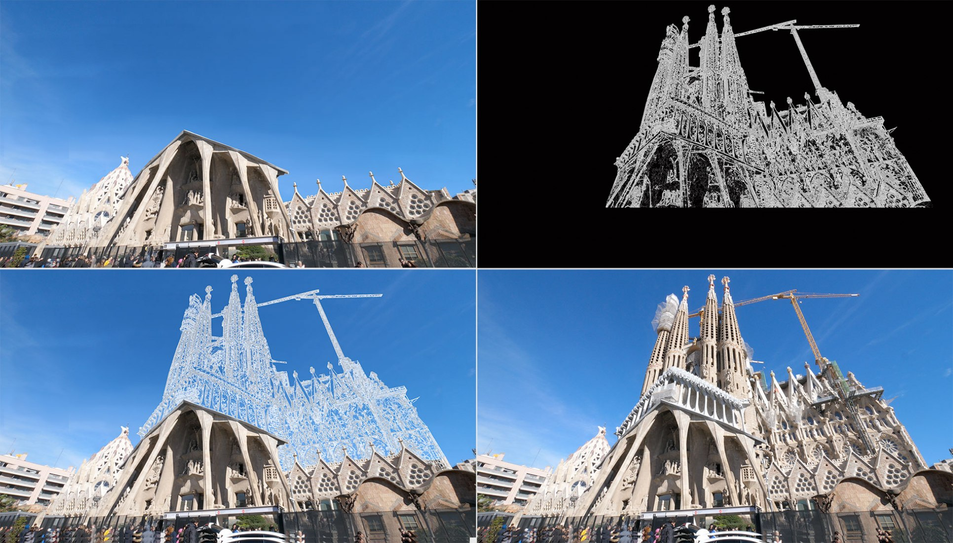 Barcelona Archi'llusion, imagine the city that could be, by Maxime // Menilmonde