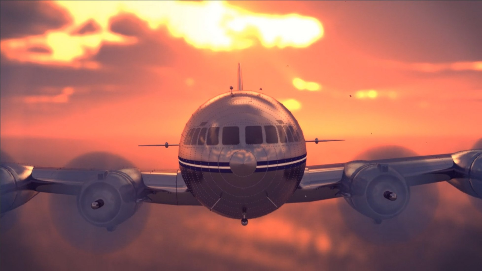 Come Fly With Us. Video screenshot.