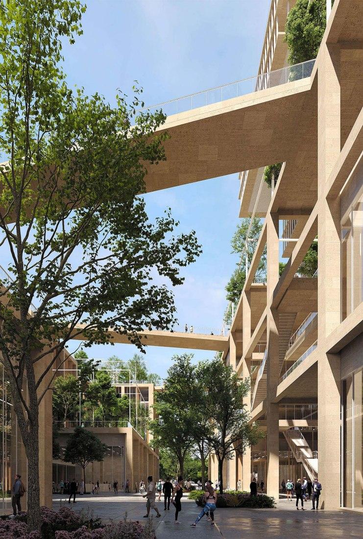 Visualización por PLOMP. Centro de gestión de Sicilia por Leclercq Associés + Nicolas Laisné + Clément Blanchet
