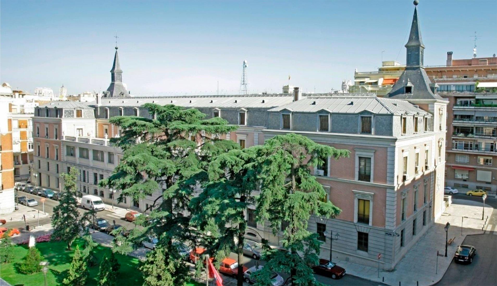 Imagen del exterior. Cortesía del concurso plateado por el Museo del Prado.