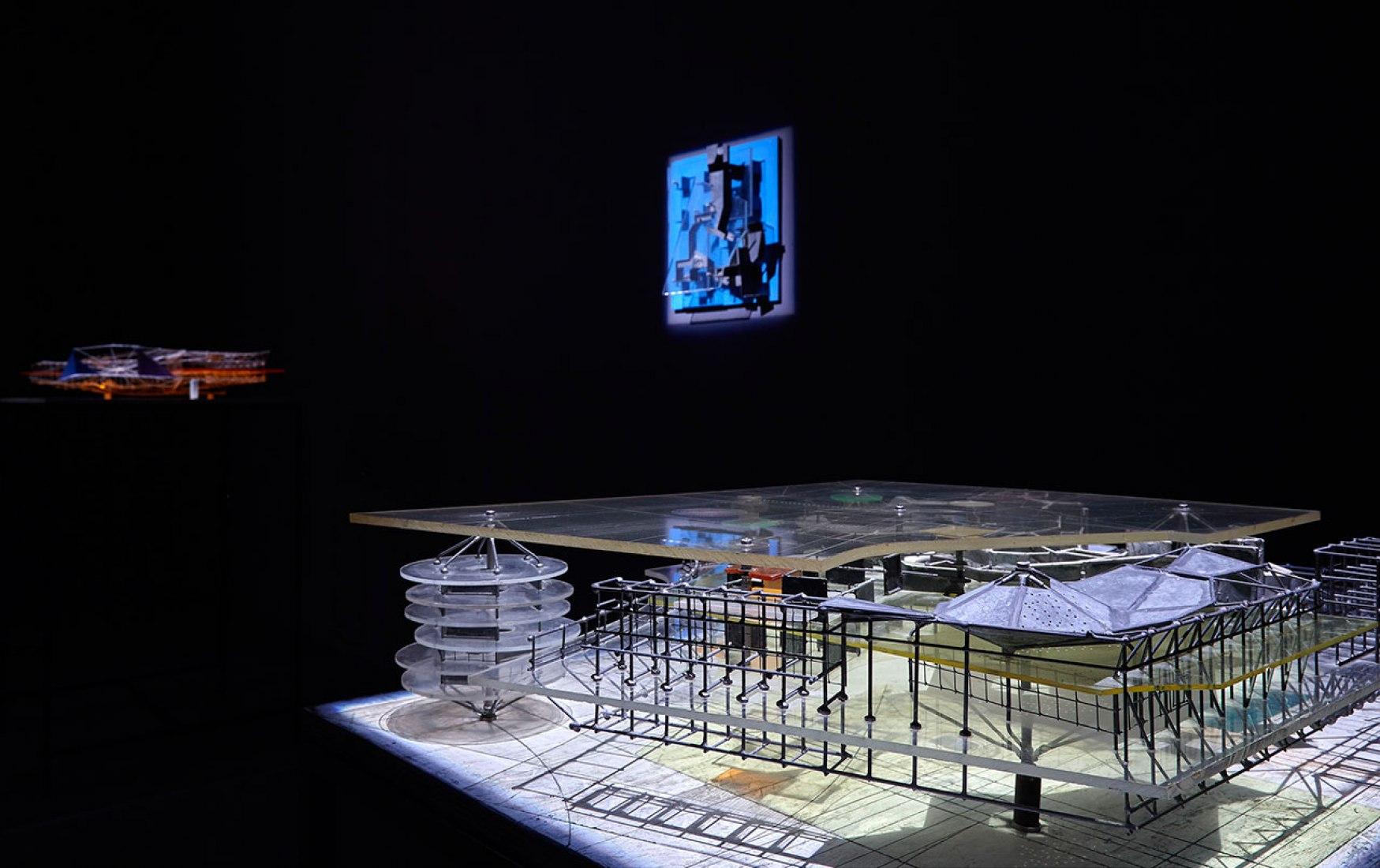 Constant. New Babylon. Exhibition room. Museo Nacional Centro de Arte Reina Sofia, 2015.Photography @ Joaquín Cortés/Román Lores. Image courtesy of MNCARS.