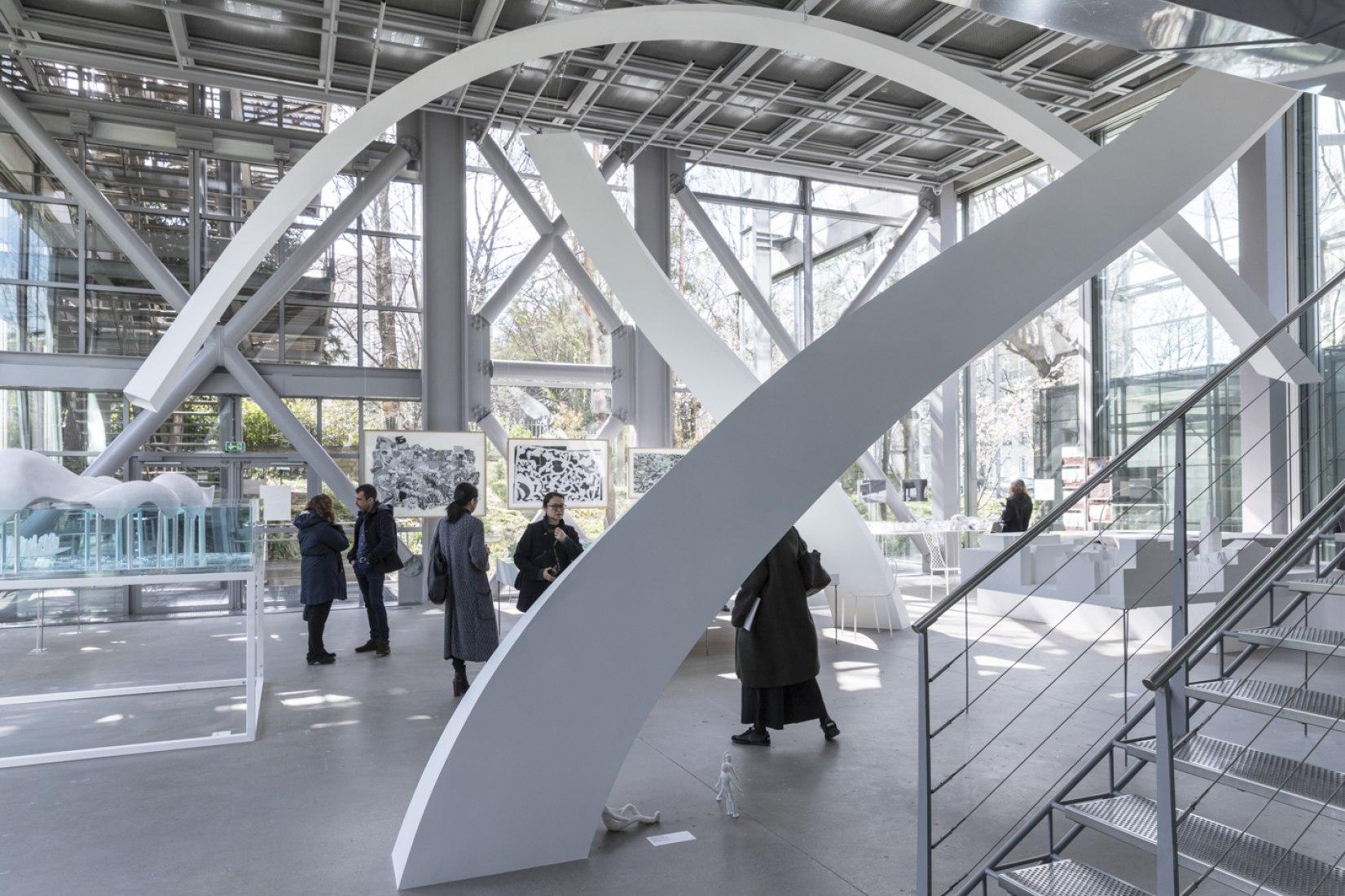 Inauguración de Freeing Architecture sobre Junya Ishigami. Fotografía © Laurian Ghinitoiu