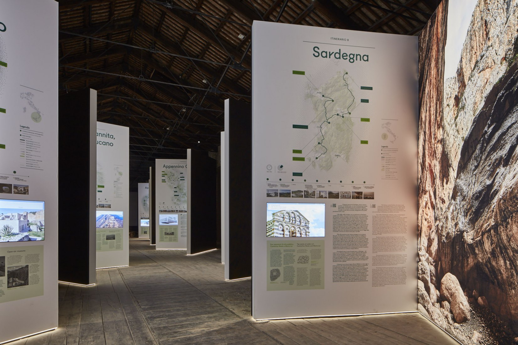 Interior view. Pavilion of Italy at the Venice Biennale. Padiglione Italia, Photograph © Urban Reports