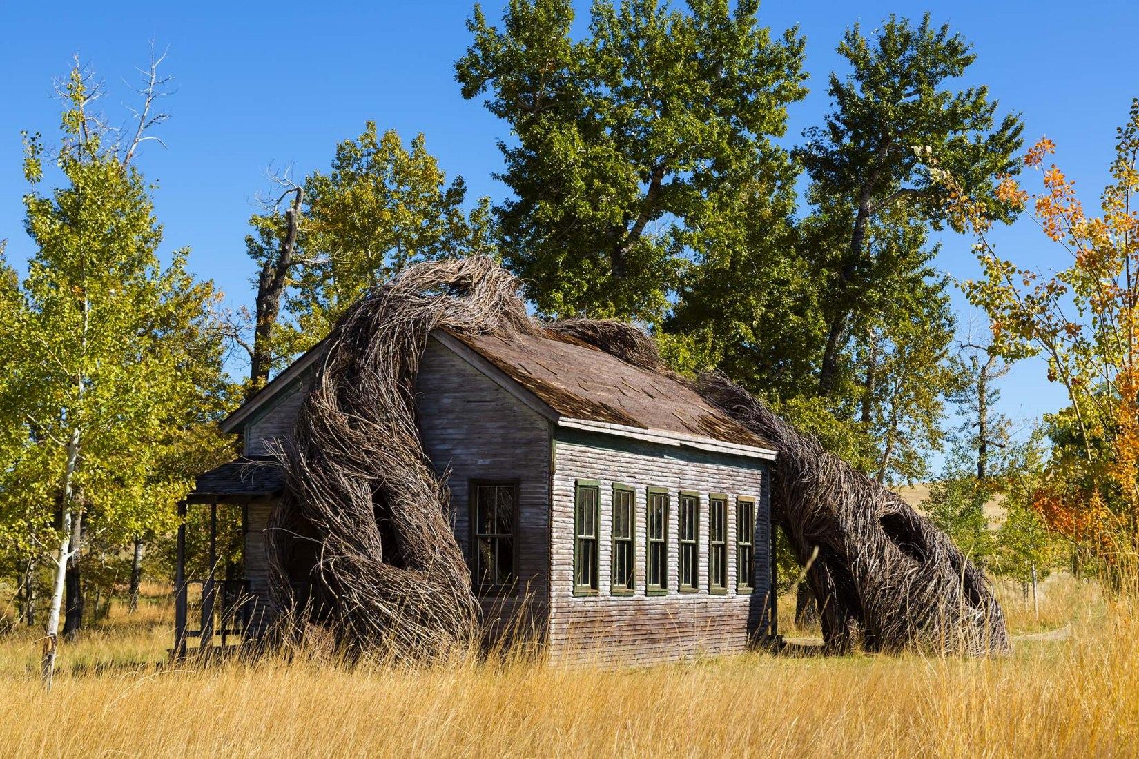 Centro de arte Tippet Rise por Cushing Terrel. Fotografía por Karl Neumann.