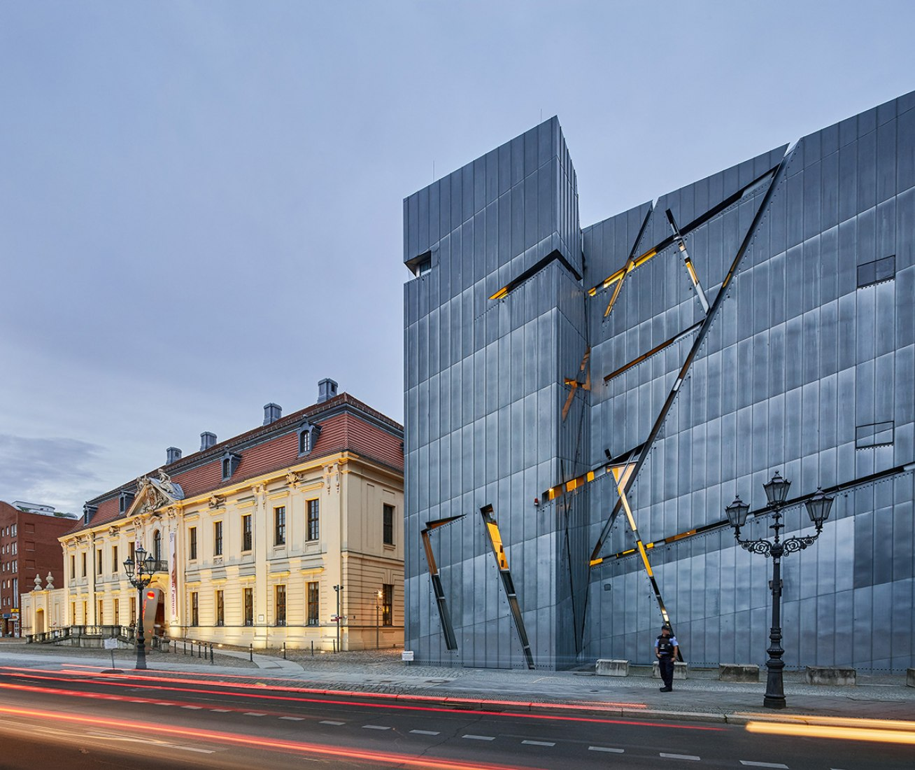Jewish Museum in Berlin, Germany. Photograph © Hufton+Crow