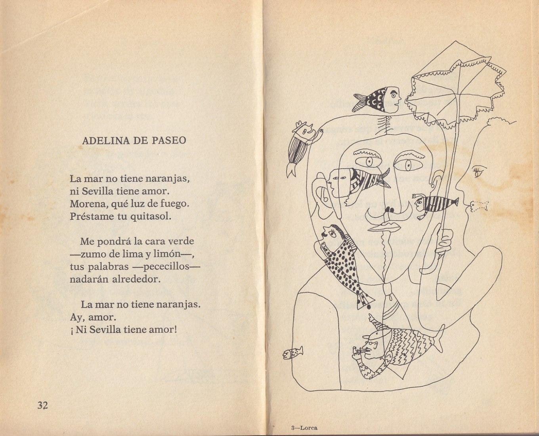 Canciones y Poemas para Niños, de Federico García Lorca. Libro ilustrado por Daniel Zarza.