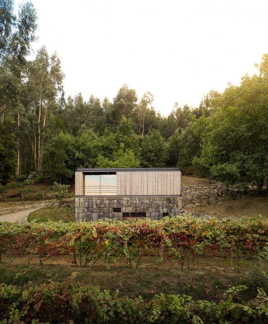 Pavilion House by Andreia Garcia Architectural Affairs + Diogo Aguiar Studio. Photograph by Fernando Guerra.