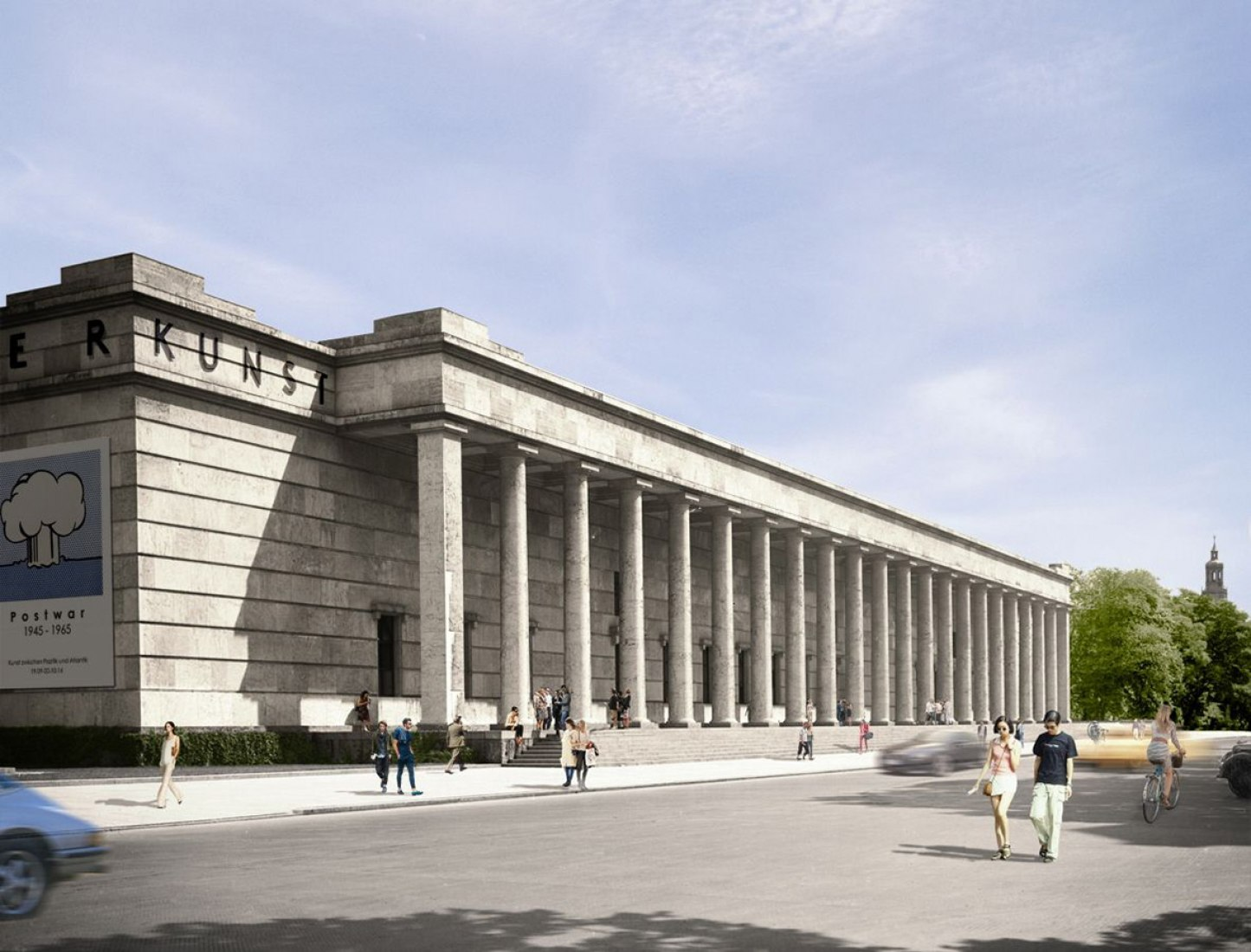 Haus der Kunst by David Chipperfield Architects, first renderings.
