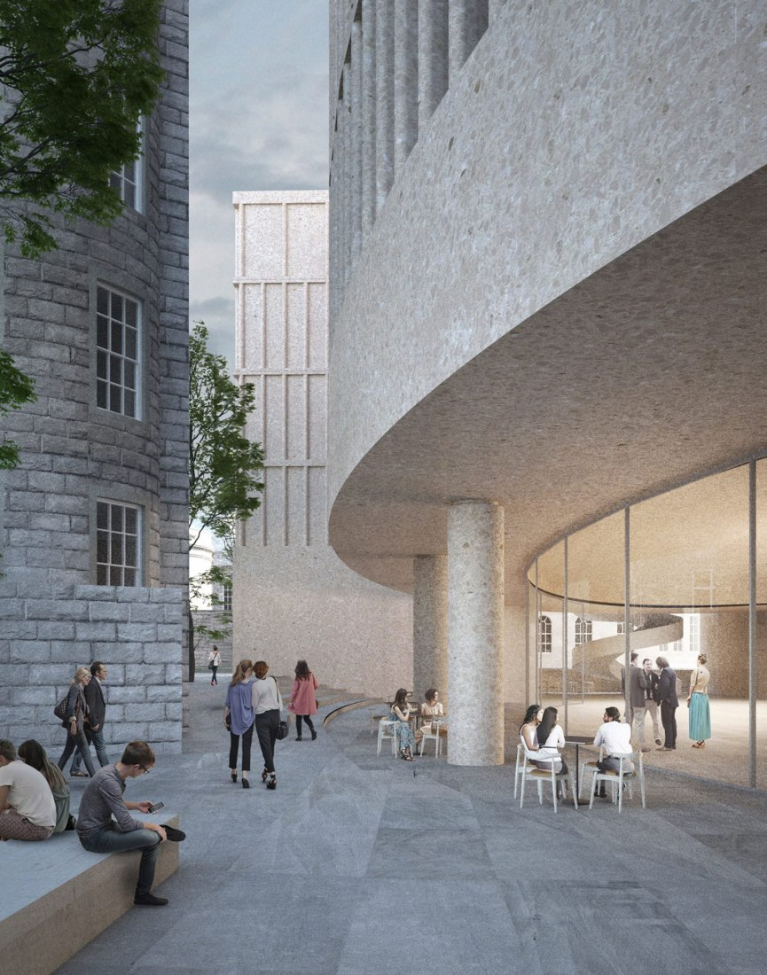 A network of public spaces will thread together St Andrew Square and St James Square