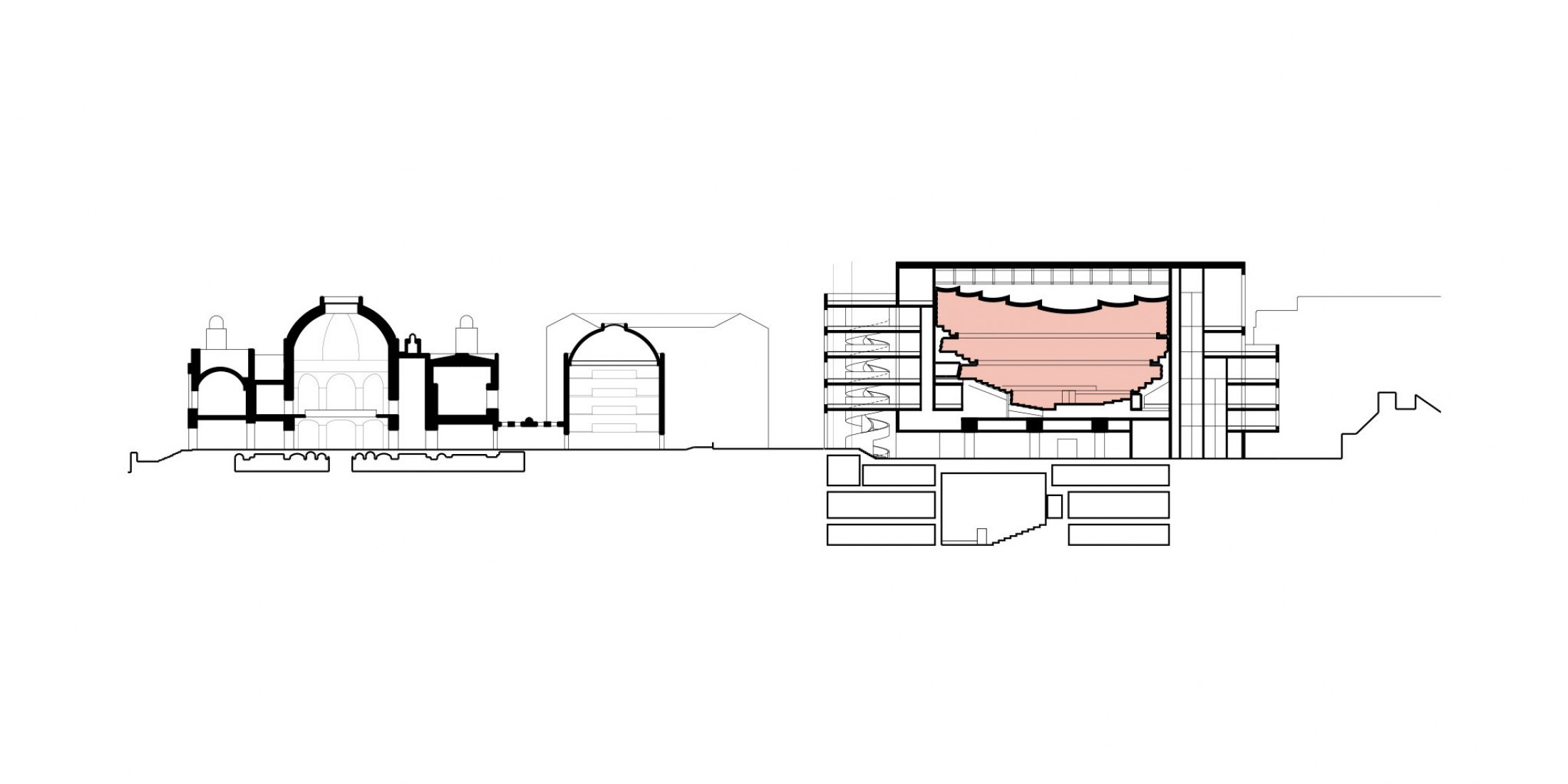 Designs for IMPACT Centre by David Chipperfield Architects