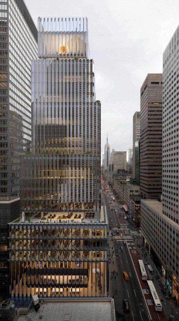 Visualización. Sede de Rolex en Nueva York por David Chipperfield Architects
