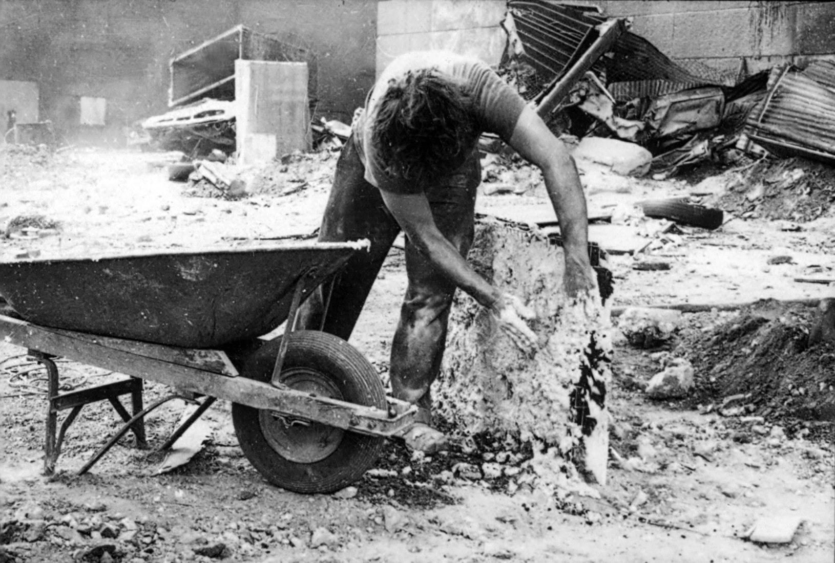 Gordon Matta-Clark, c. 1971 © The Estate of Gordon Matta-Clark / Artists Rights Society (ARS), Nueva York Cortesía The Estate of Gordon Matta-Clark y David Zwirner