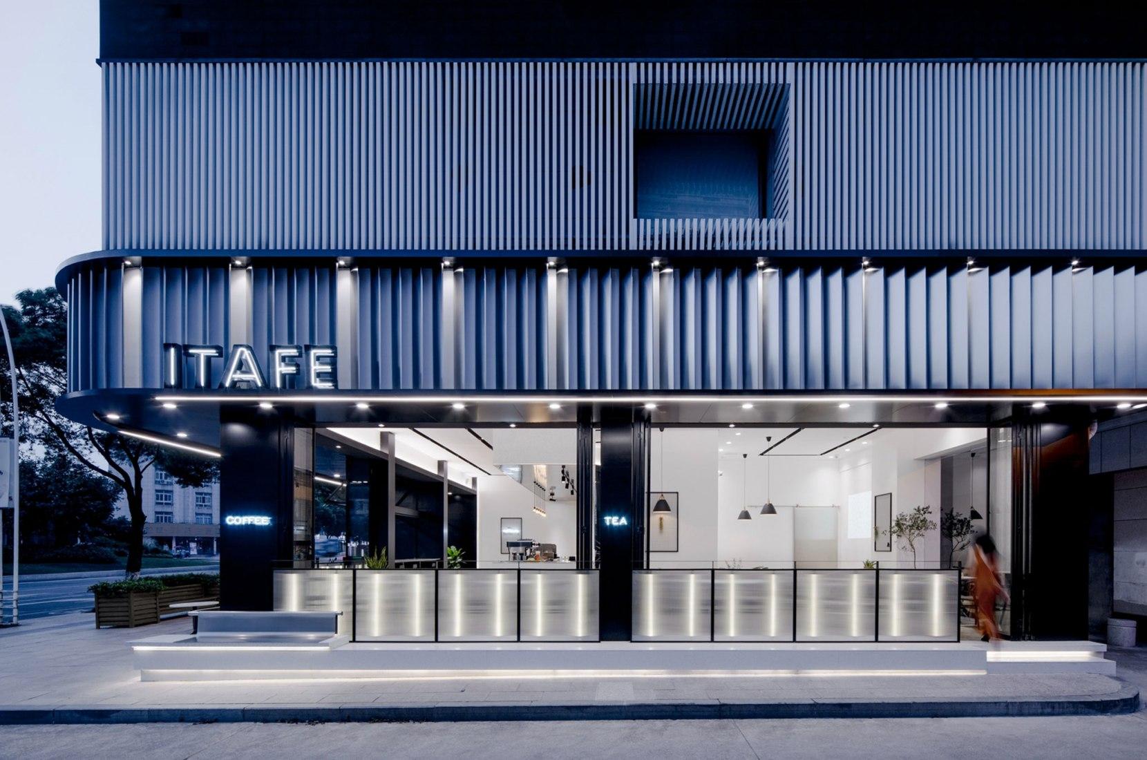 ITAFE cafetería y tetería por Dayab. Fotografía por Peter Dixie