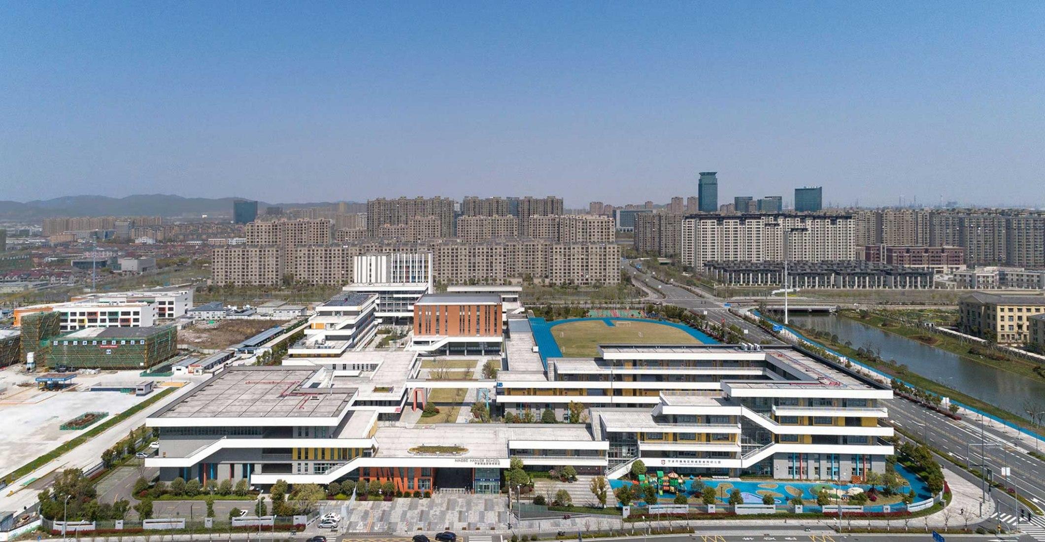 Escuela Ningbo Hanvos por DC Alliance. Fotografía por Liu Yang, Xing Zhi Ying Xiang