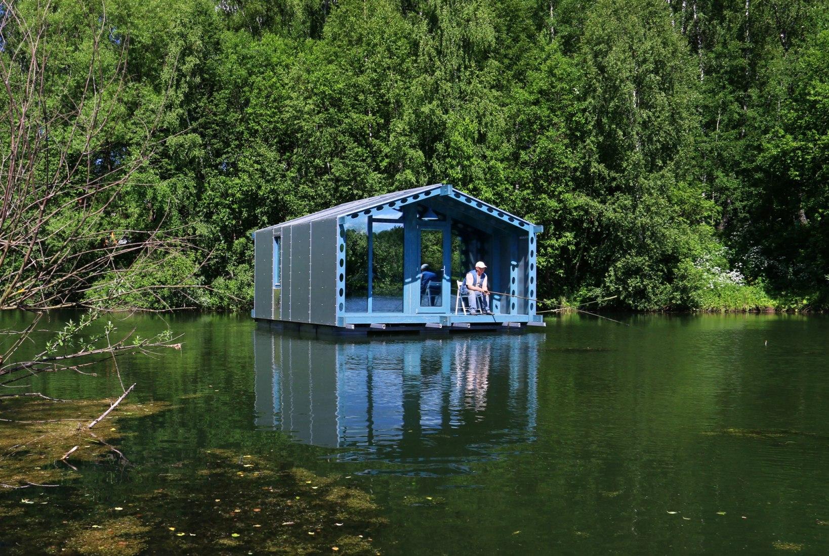 DD16, prototipo de casa modular y compacta por BIO-architects. Fotografía © Ivan Ovchinnikov