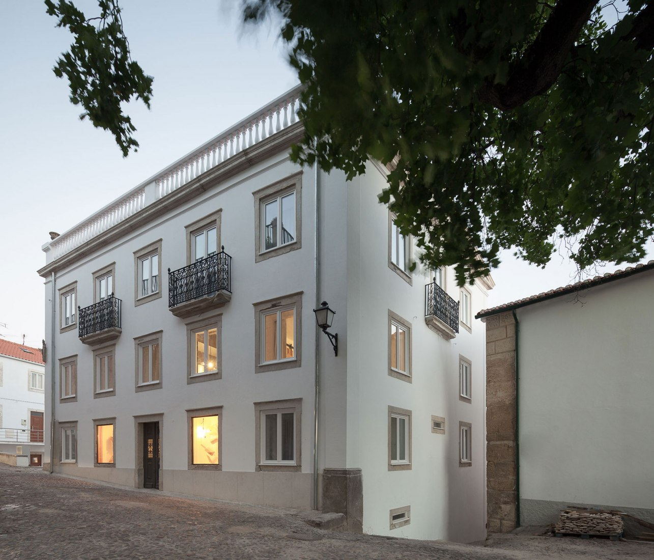Hotel in Coimbra by depA Architects. Photograph by José Campos