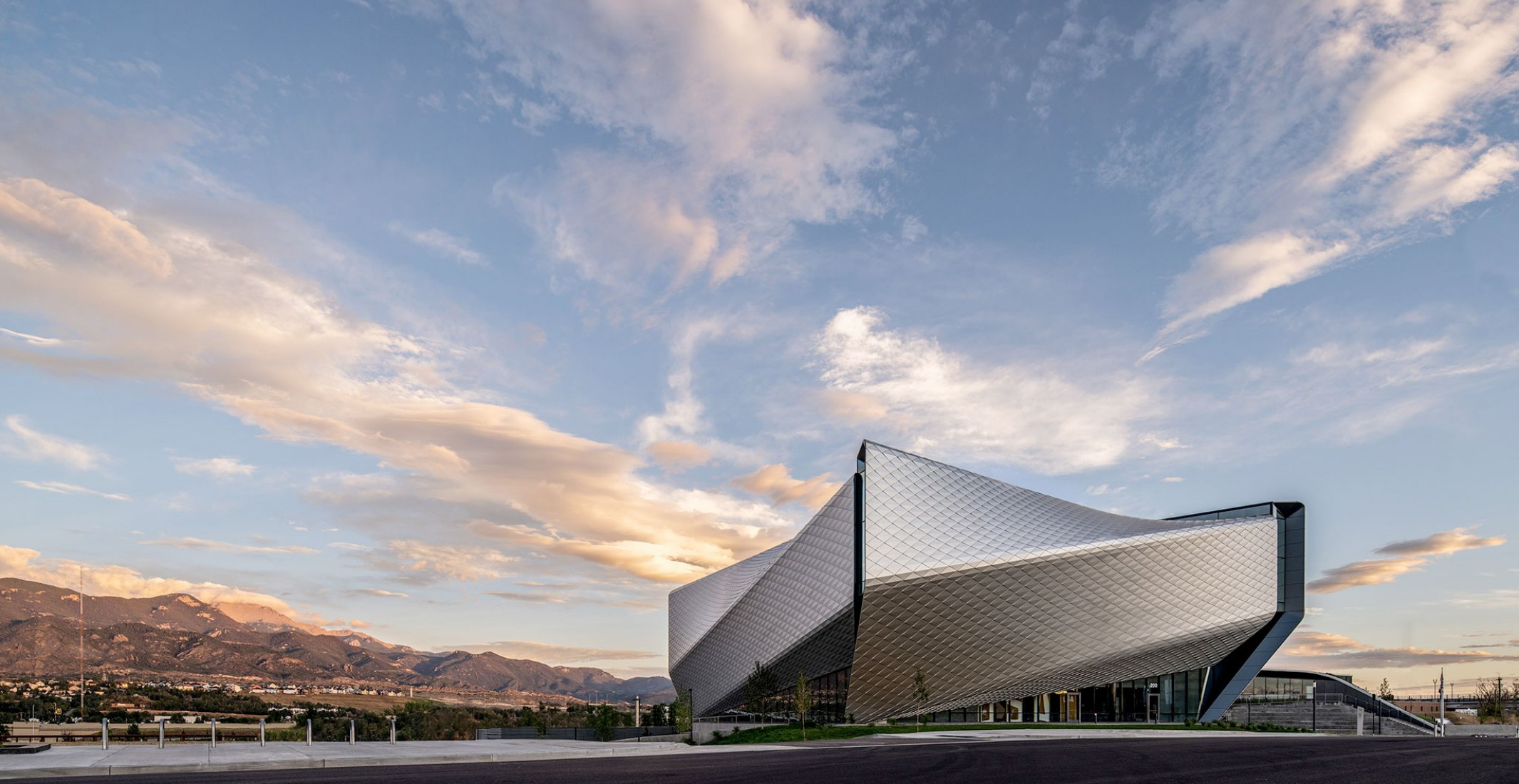 DS+R's United States Olympic and Paralympic Museum in Colorado Springs, Colorado. Photograph by Jason O'Rear